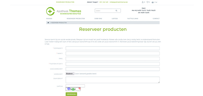 Apotheek Thomas Vannieuwenhuyse - Izegem
