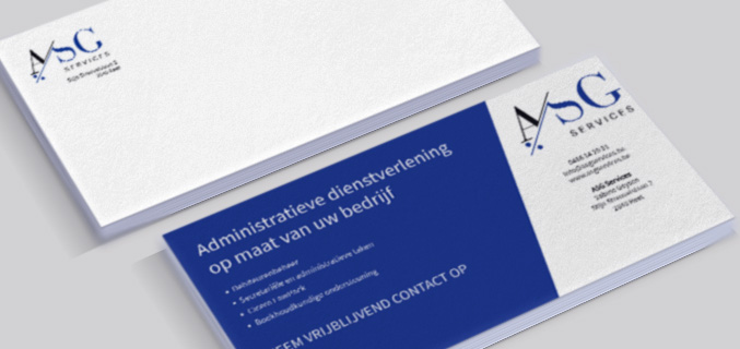 ASG Services - ontwerp business card
