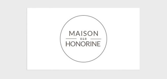 Maison Honorine - ontwerp logo