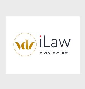 VDV-iLaw logo en huisstijl