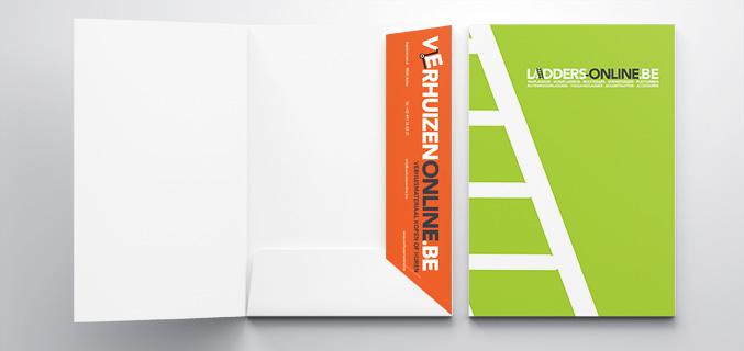 Presentatiemap en folder