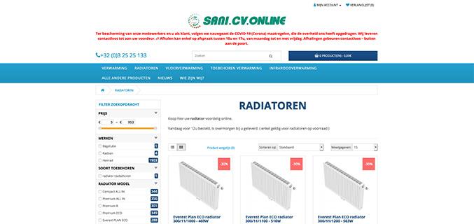 Sani CV Online