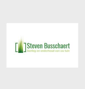 Steven Busschaert - logo en huisstijl