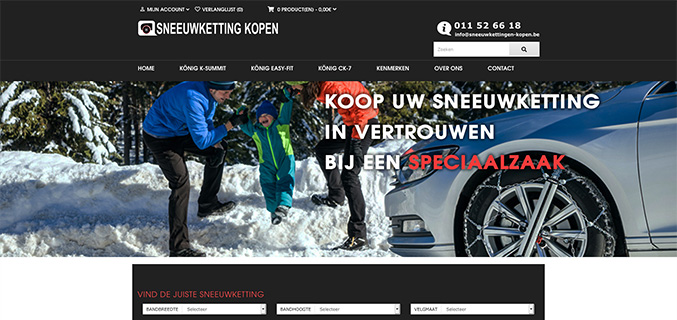 Sneeuwkettingen-kopen.be - Houthalen-Helchteren