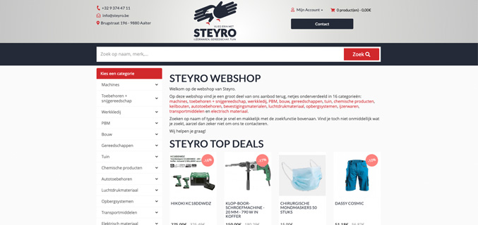 Steyro-webshop.be