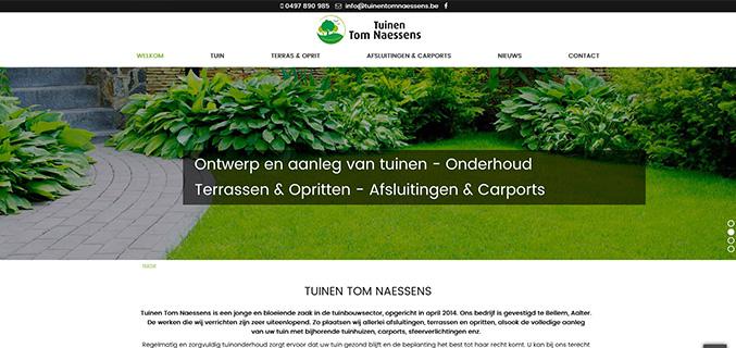 Tuinen Tom Naessens