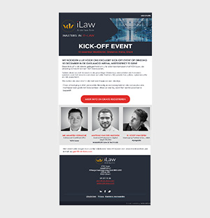 VDV-iLAW Kick-Off Event