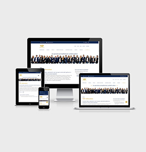 Website refresh voor VDV Advocaten